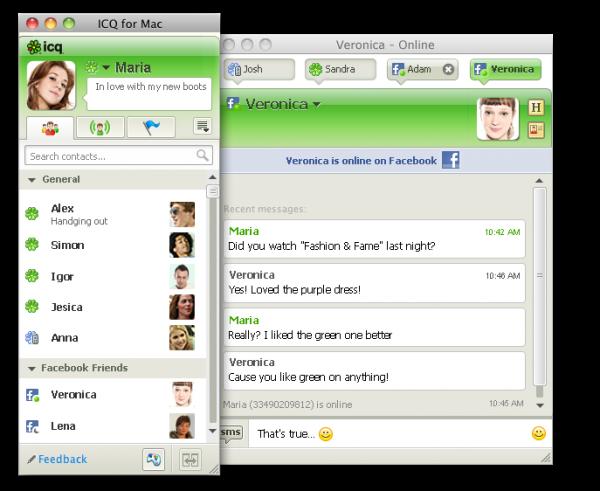ICQ pro Mac OS