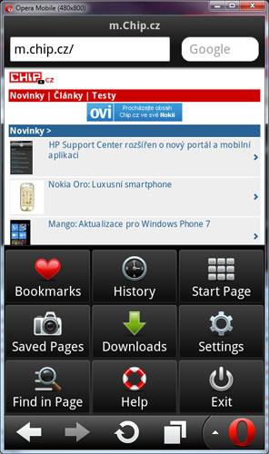 Opera Mobile 11