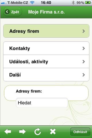 Účtujte.cz - mobilní verze