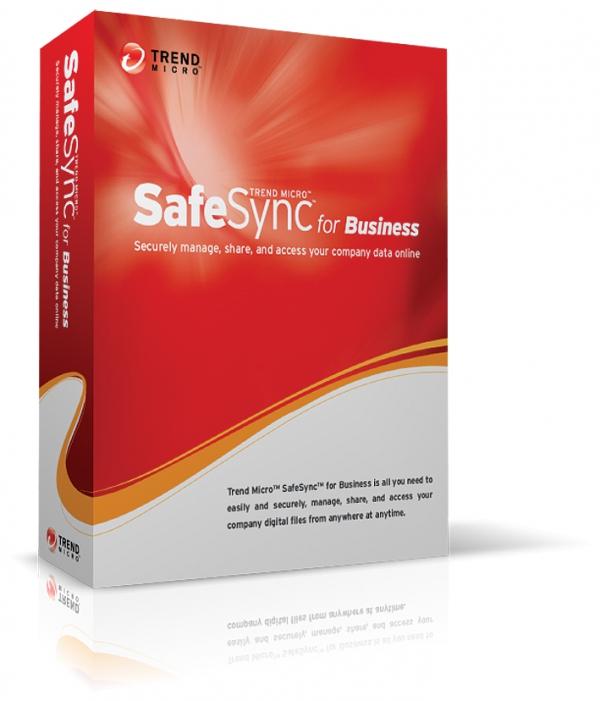 Trend Micro SafeSync for Business pro bezpečnější digitální soubory...