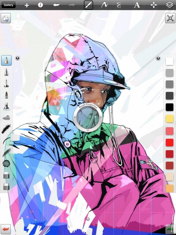 Autodesk SketchBook Pro pro iPad 2