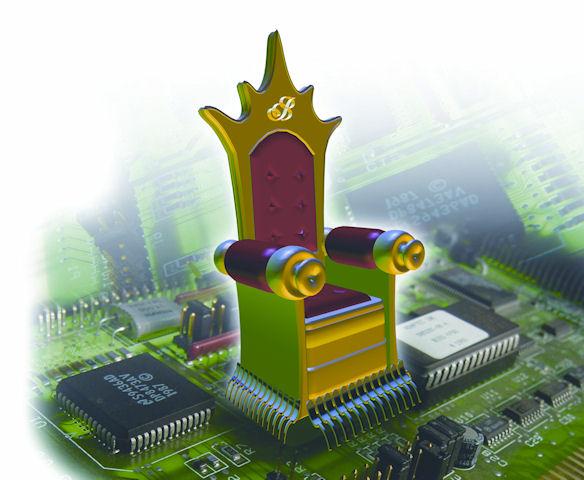 Hackeři neváhají zneužít ani symbol království...