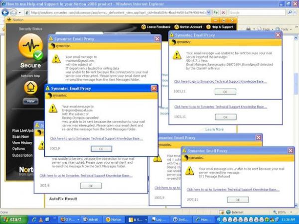MessageLabs Intelligence hlásí vyšší aktivitu botnetů...
