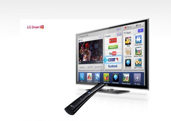 Technologie Smart TV - k dispozici je mimo jiné i plnohodnotný browser.
