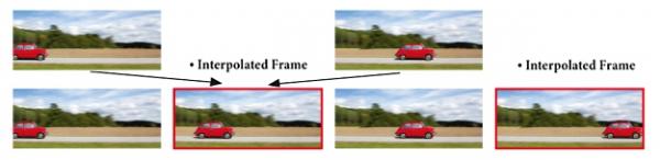Projektor BenQ W1200 - technologie interpolace snímků