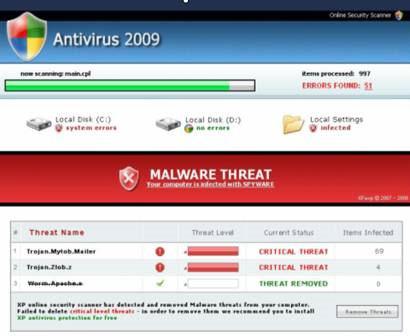 Falešné antiviry jsou v současnosti jedním z největších zdrojů internetových podvodníků...