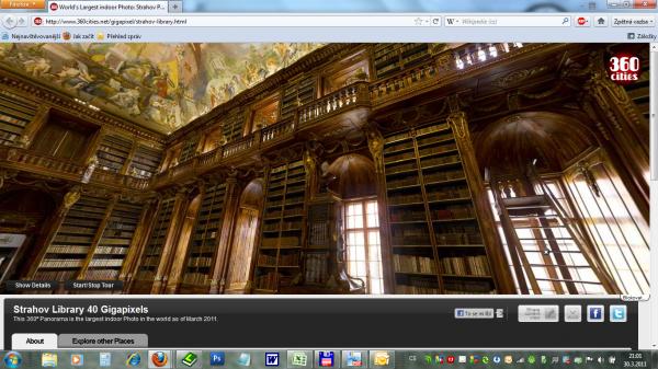 Strahov Library 40 Gigapixels