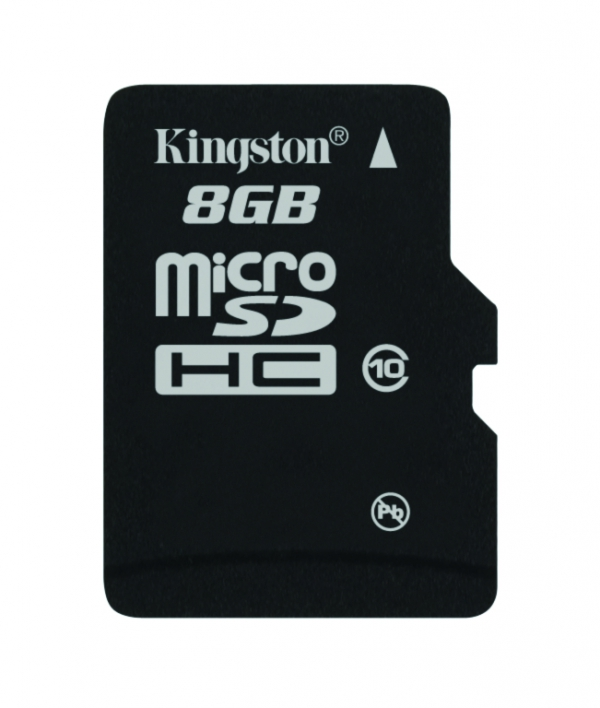 Kingston microSDHC třídy 10