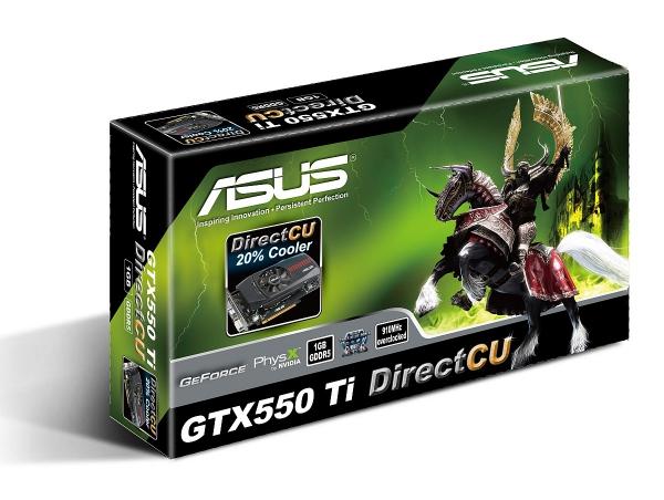 Asus GTX550 Ti DirectCU