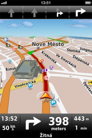 Dynavix: Navigace pro iPhone