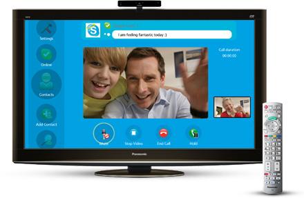 Blu-ray přehrávače podporují Skype