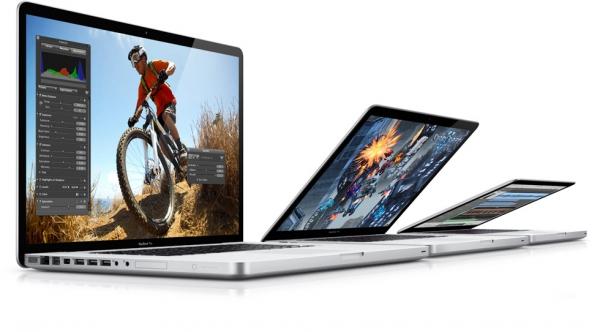 Nová řada notebooků Apple MacBook Pro