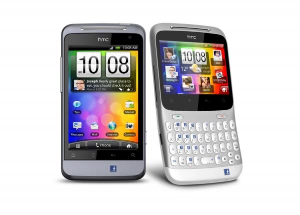 HTC ChaCha a Salsa