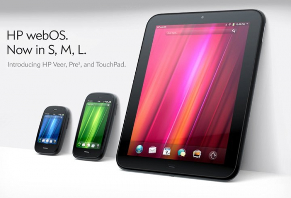 HP Pre3, Veer a TouchPad