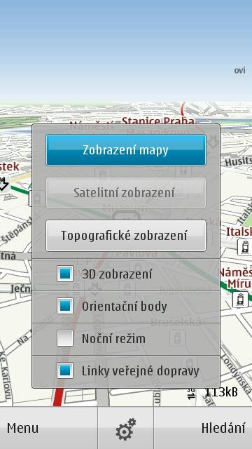 Nové Ovi Mapy