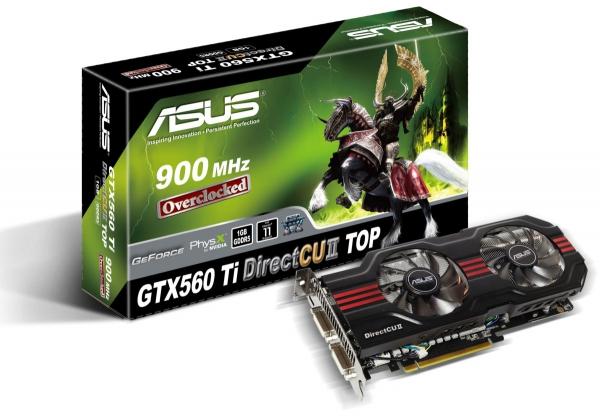 Asus GTX 560 Ti