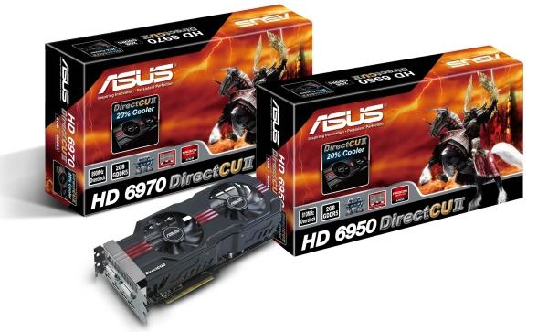 Asus Radeon HD 6950 a 6970