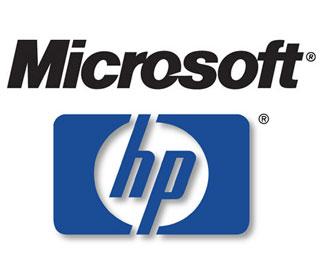 Microsoft a Hewlett-Packard