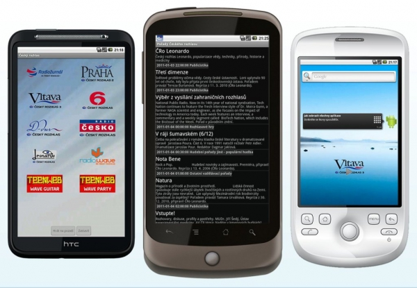 Český rozhlas na Androidech