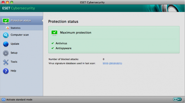 ESET Cybersecurity pro Mac