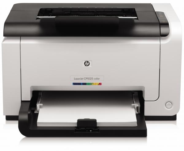 HP LaserJet Pro CP1025 - nejmenší barevná laserová tiskárna na světě