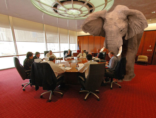 """Podle Erica je nutnost SSL přístupu """"slonem vmístnosti"""" (slon je nepřehlédnutelný, ale všichni vmístnosti se tváří, že ho nevidí)"""