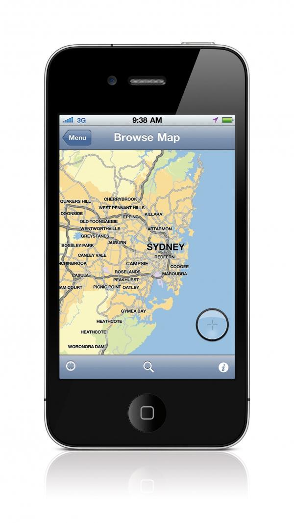 TomTom pro iPhone verze 1.5