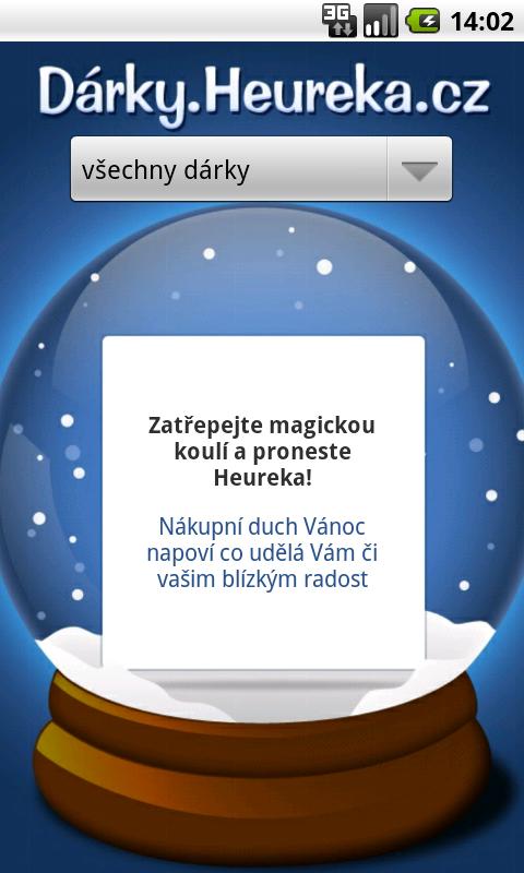 Vytřeste z mobilu tipy na vánoční dárky