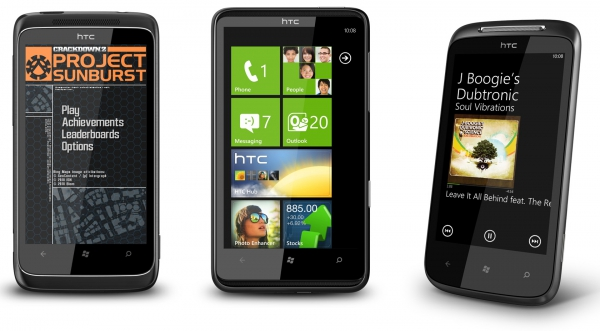 HTC 7 Mozart, HTC 7 Trophy, HTC HD7