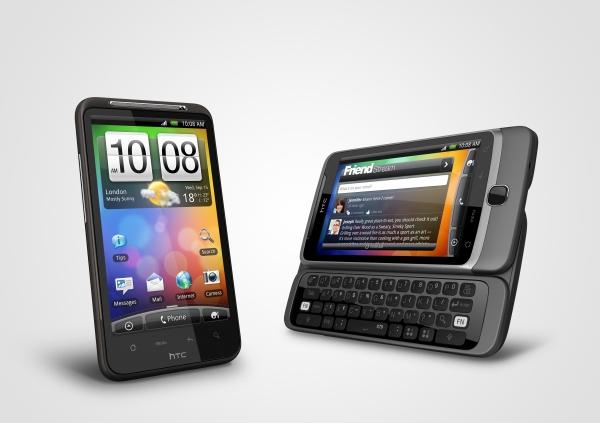 HTC Desire Z a HTC Desire HD