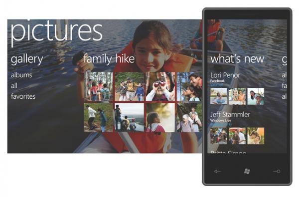 Windows Phone 7 — procházení obrázků