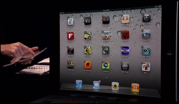 iPad s iOS 4.2