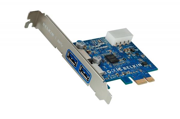 Belkin uvádí produkty USB 3.0
