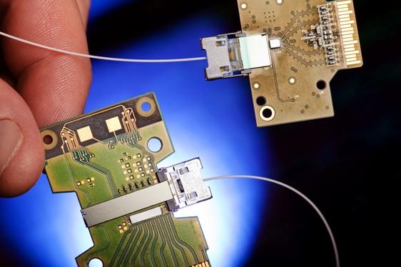 Technologie Hybrid Silicon Laser