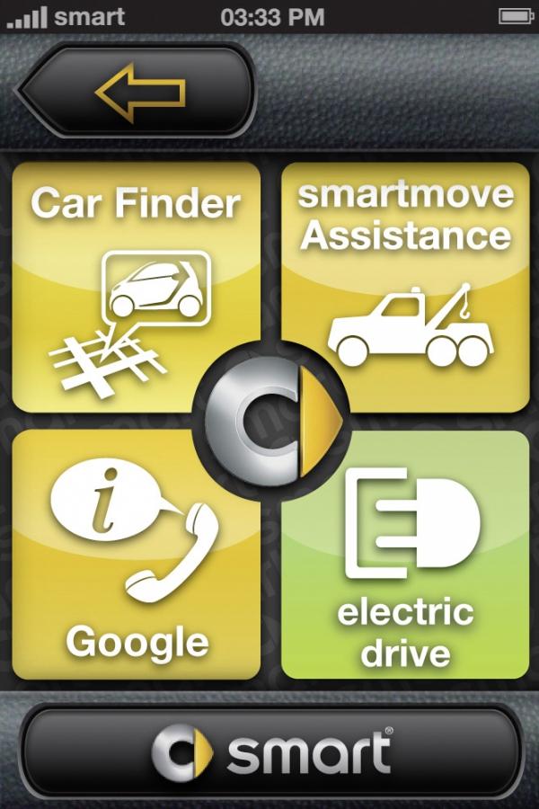 Aplikace také pomůže najít vaše ztracené auto.
