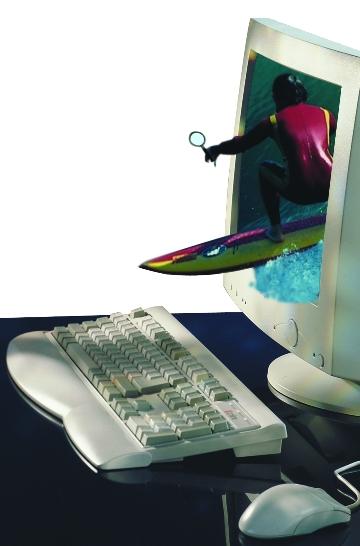 Letsní surfování může být rizikové...