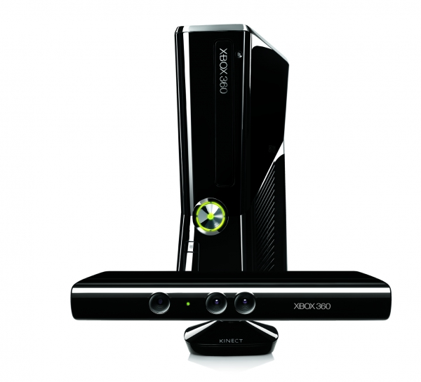 Microsoft Xbox 360 s ovládáním