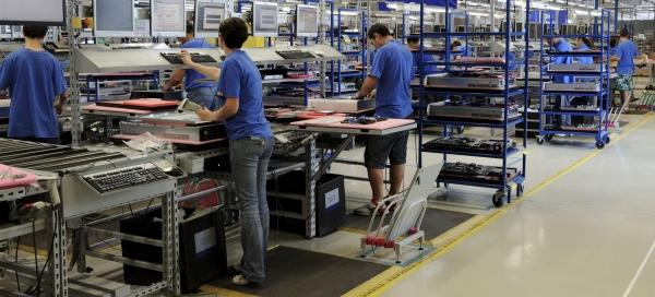 Foxconn Kurná Hora: výroba serverů a datových úložišť HP