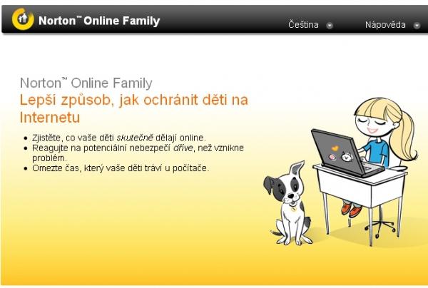 Norton Online Family je nyní k dispozici i v češtině...