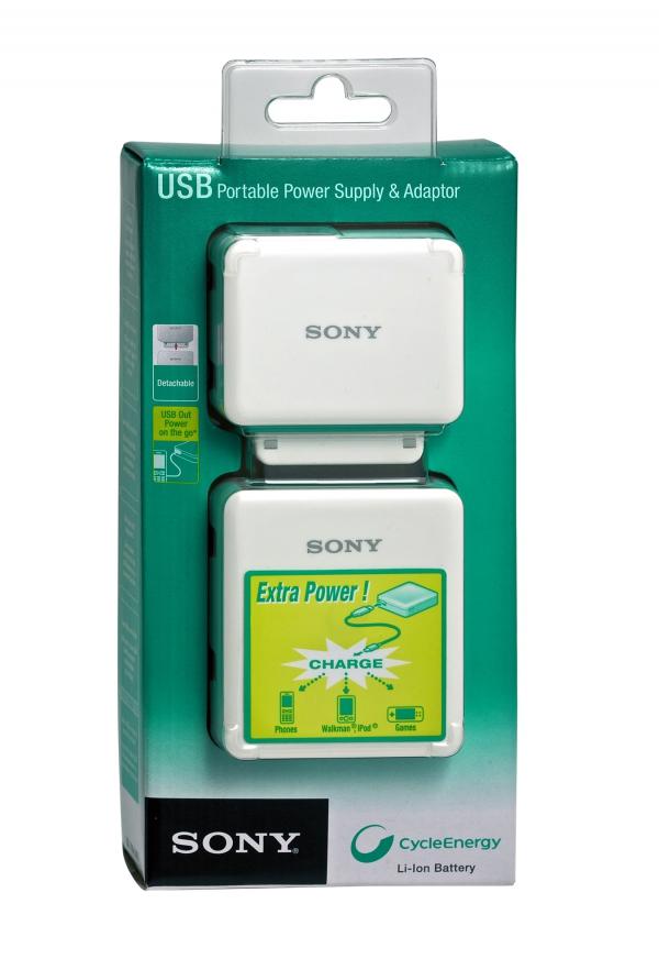 Přenosná USB nabíječka SONY