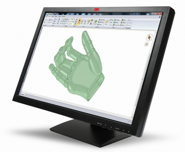 Nový dotykový monitor od 3M