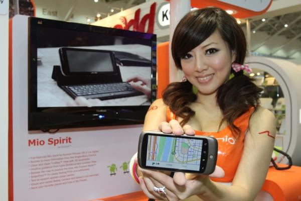 Mio nabízí navigaci pro iPhone a OS Android