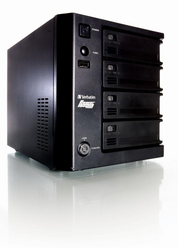 Verbatim PowerBay DataBank NAS
