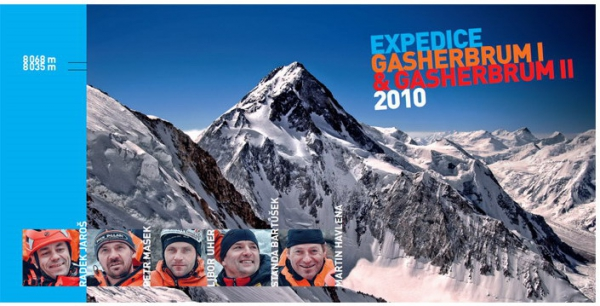 Expedice Gasherbrum I - Gasherbrum II 2010