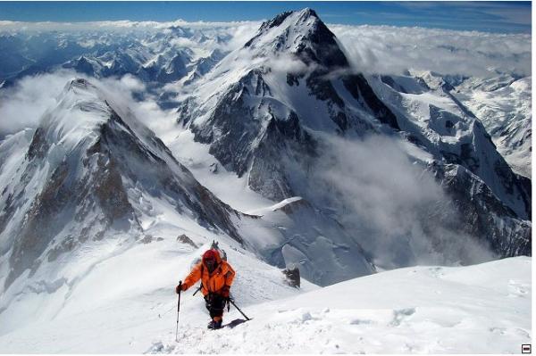 Pohled z Gasherbrumu (foto Mára Holeček)