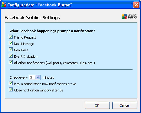 Configuration: Facebook Button