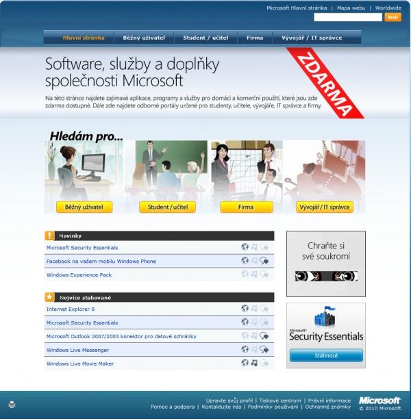 Microsoftzdarma.cz