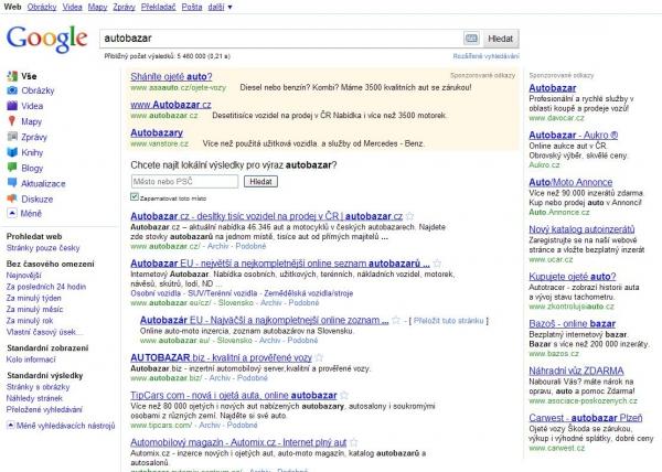 Google zcela v novém