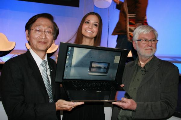 Výkonný a elegantní notebook Asus NX90 s velkými reproduktory a kovovým tělem