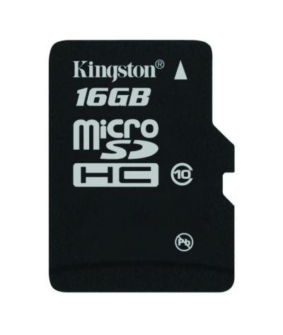 Kingston 16 GB microSDHC Class 10
